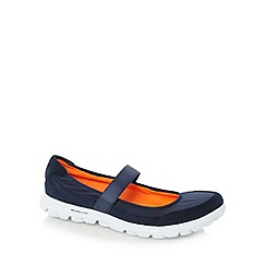 Skechers - Navy 'GOwalk Everyday' mary jane shoes
