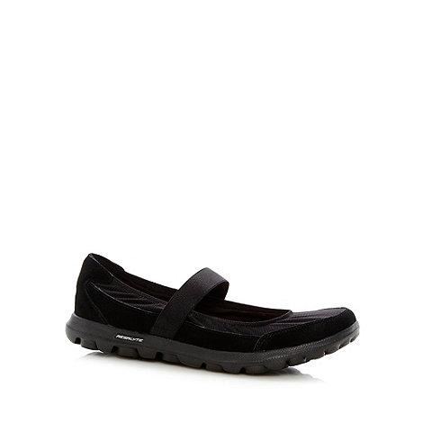 Skechers - Black +GOwalk Everyday+ mary jane shoes