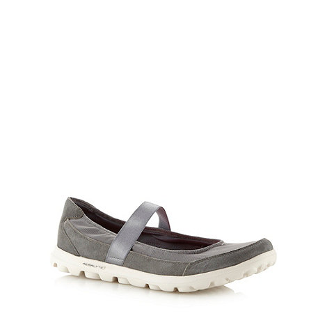 Skechers - Dark grey 'GOwalk Everyday' mary jane shoes