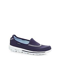 Skechers - Navy 'GOwalk Original' washable slip on shoes