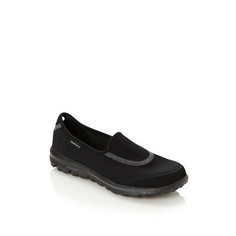 Skechers - Black +GOwalk Original+ washable slip on shoes