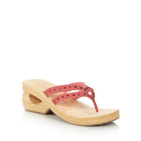 Skechers - Coral +spinners+ mid wedge sandals