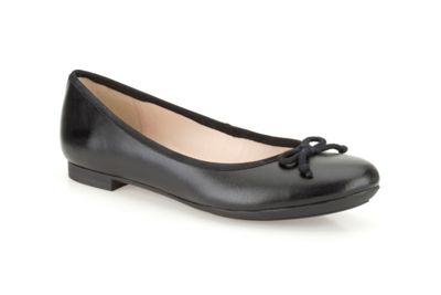 Clarks Black ´Carousel Ride´ leather pumps - . -