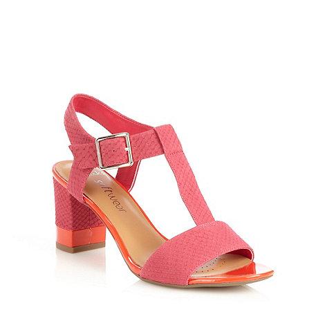 Clarks - Smart deva+ pink sandals