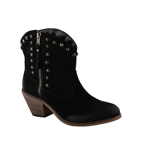 Call It Spring - Black +faticka+ studded ankle boots