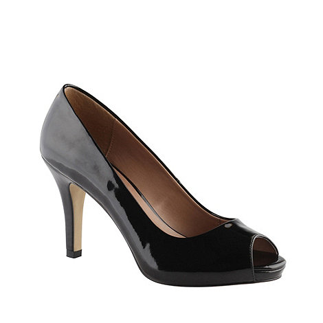 Call It Spring - Black +luella+ patent high heel court shoes