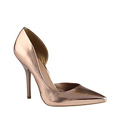 Call It Spring - Rose 'schapp' pointed court shoes