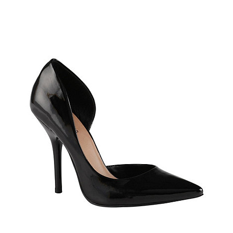 Call It Spring - Black +schapp+ pointed court shoes