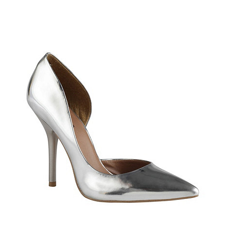 Call It Spring - Silver +schapp+ pointed court shoes