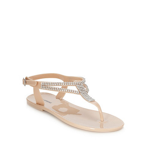 Call It Spring - Natural +siegen+ jelly sandals