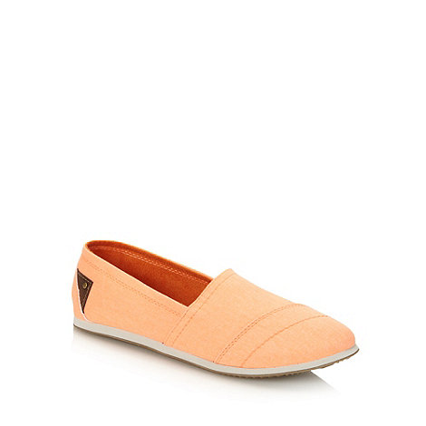 Call It Spring - Bright orange +lumina+ slip on shoes