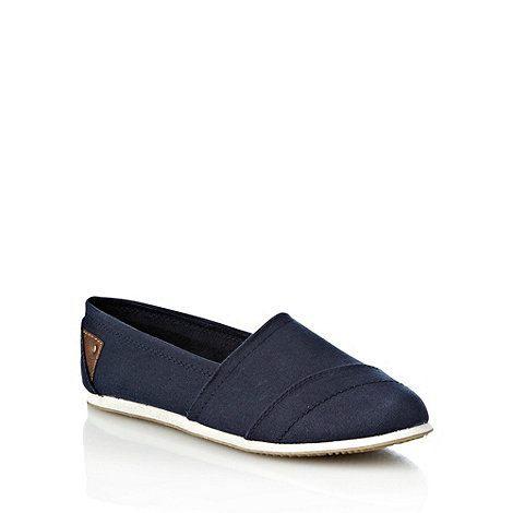 Call It Spring - Navy +lumina+ canvas espadrilles
