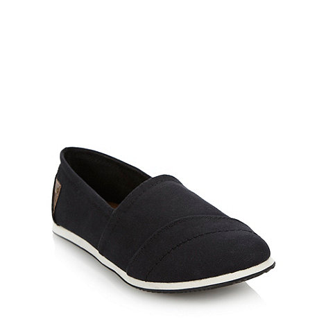 Call It Spring - Black +lumina+ canvas espadrilles