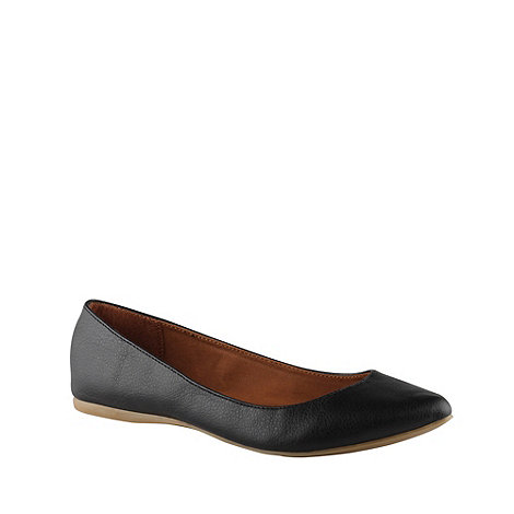 Call It Spring - Black +janille+ pointed toe pumps