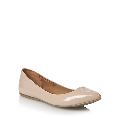 Call It Spring - Beige +janille+ pointed toe pumps