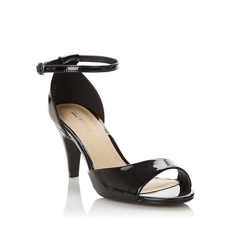 Call It Spring - Black hyppolyte+ patent buckle sandals