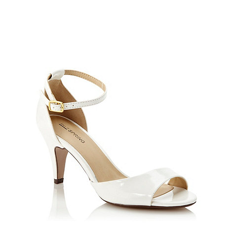 Call It Spring - White 'hyppolyte' mid sandals