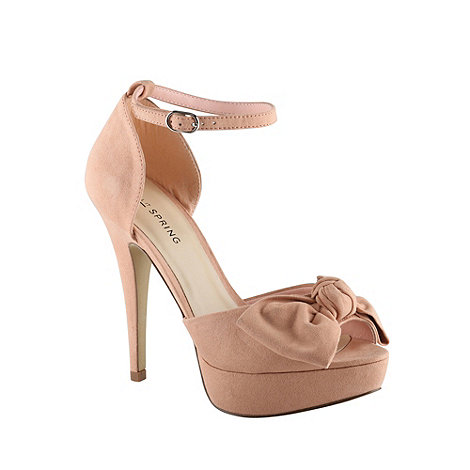 Call It Spring - Rose high heeled bow court shoes