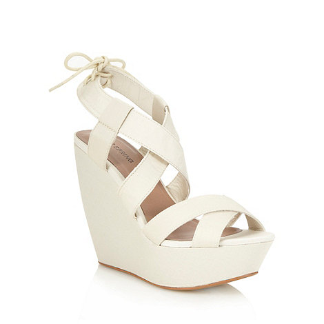 Call It Spring - Natural +waldridge+ high wedges