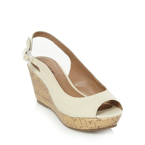 Call It Spring - Natural +darrington+ high wedges