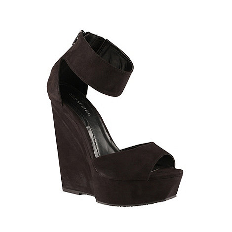 Call It Spring - Black +quilla+ platform wedges