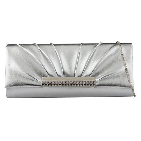 Call It Spring - Silver +navarrete+ clutch bag