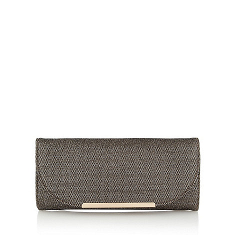 Call It Spring - Bronze +Gurosto+ clutch bag