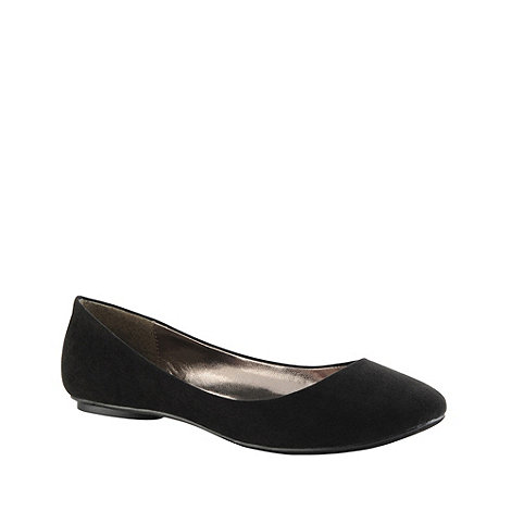 Call It Spring - Black +arleigh+ round toe pumps