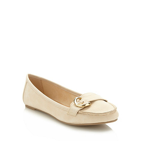 Call It Spring - Beige 'hendrych' buckled pumps