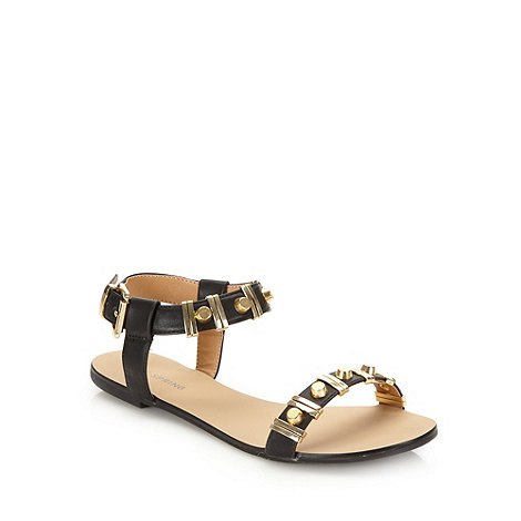 Call It Spring - Black +maderove+ flat sandals