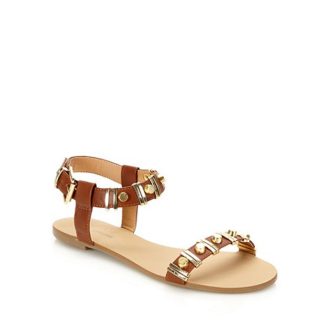 Call It Spring - Tan +maderove+ flat sandals