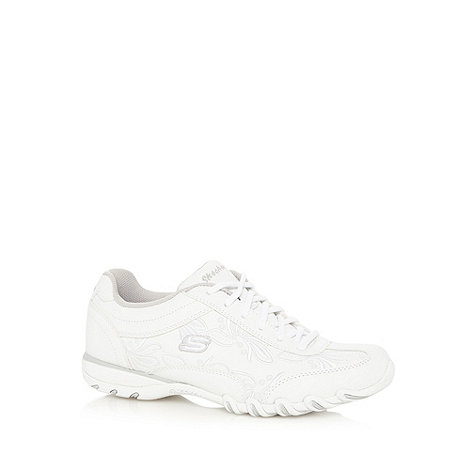 Skechers - White 'Speedster Nottingham' trainers