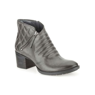 Clarks Dark grey leather ´ Movie Retro ´ ankle boot - . -