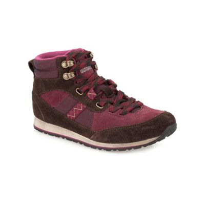 Clarks Burgundy ´ Incast Hiker ´ lace up ankle boot - . -