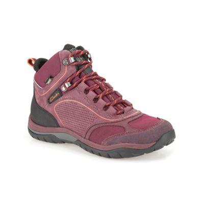 Clarks Berry Nubuck ´ IntourRouteGTX ´ lace up walking boot - . -