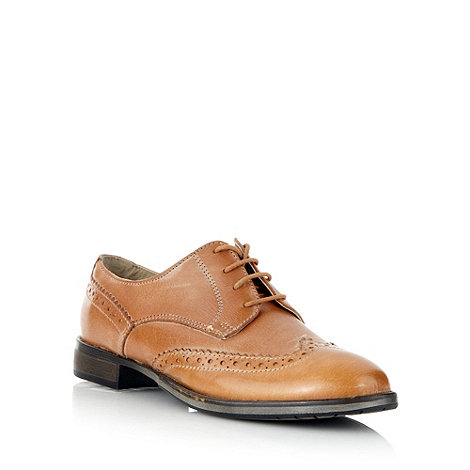 Faith - Tan leather lace up brogues