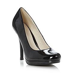 Faith - Black patent high court shoes