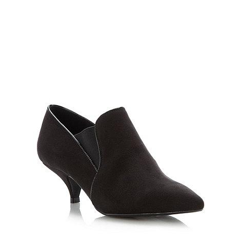 Faith - Black low chelsea shoe boots