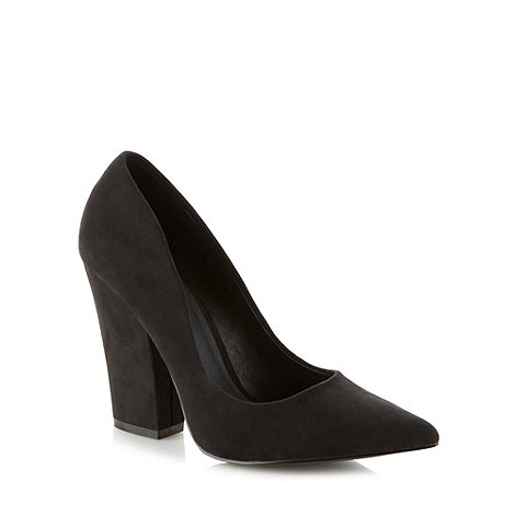 Faith - Black pointed high court shoes