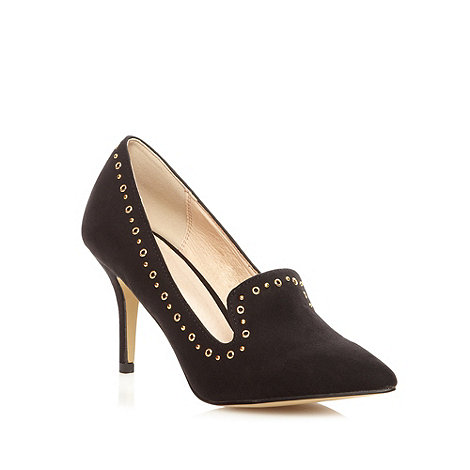 Faith - Black studded high court shoes