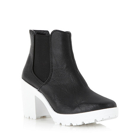 Faith - Black high chelsea boots
