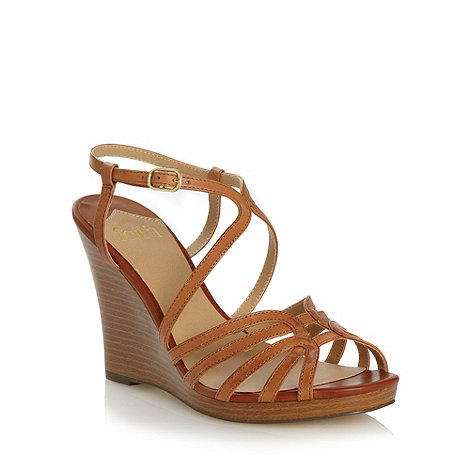 Faith - Tan heeled sandals
