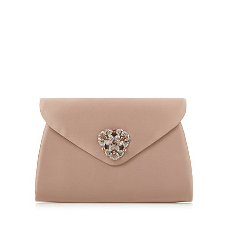 Faith - Pink pave flower clutch bag