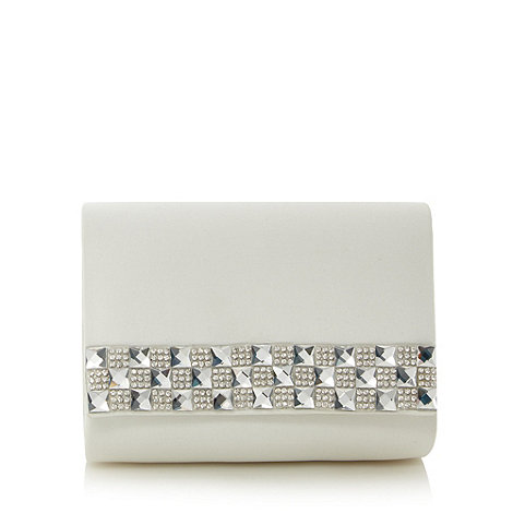 Faith - Ivory embellish bridal clutch bag
