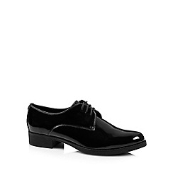 Faith - Black patent brogues