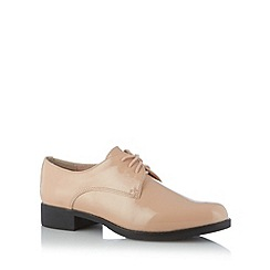 Faith - Light pink patent lace up shoes