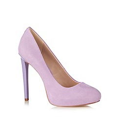 Faith - Suedette concealed platform court shoe