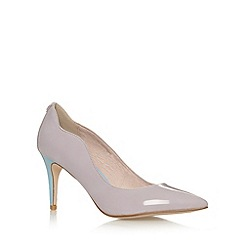 Faith - Lilac two tone patent high court shoes