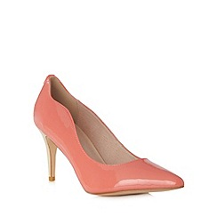 Faith - Coral two tone patent high court shoes