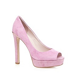 Faith - Light pink suede high court shoes
